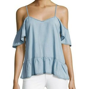 Paige Denim Chambray Top